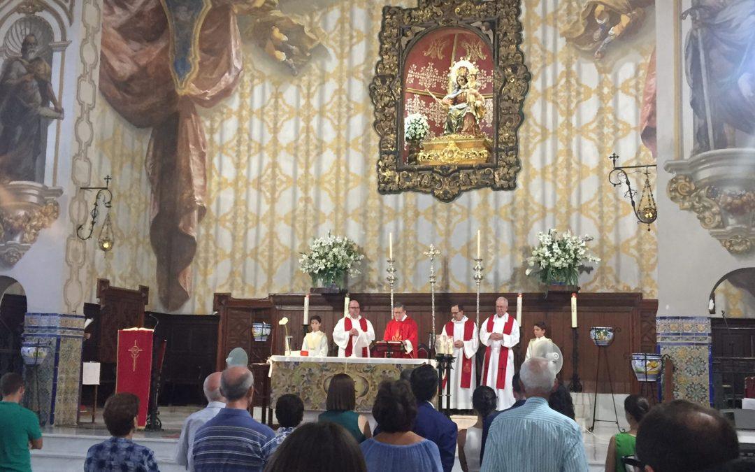 Despedimos a nuestro párroco D. Francisco Alegría