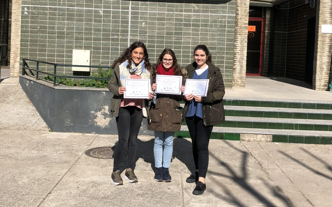 Tres alumnas de segundo de Bachillerato se han presentado a las ...