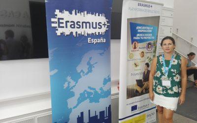 Participación en jornadas de formación Erasmus+