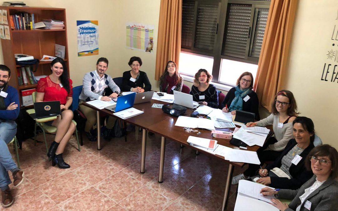 Nuestros proyectos Erasmus entre centros Europeos