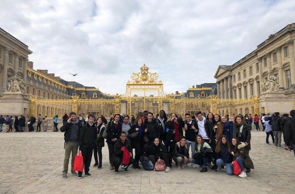 Nuestro proyecto Erasmus Entreapp en Versalles
